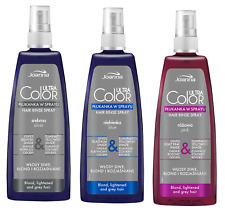 JOANNA Ultra Color HAIR RINSE IN SPRAY SILVER / BLUE / PINK