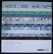 "Kaisercraft Paper Pads 6.5"" x 6.5"" 40 pages ~ Ubud Dreams ~ Spiritual Mandala"
