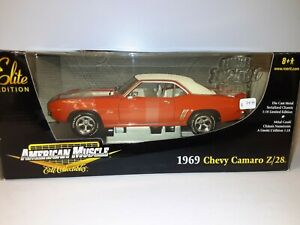 "1:18 ""Ertl"" Elite 1969 Chevy Camaro Z/28 ""Elite"""
