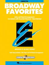 Essential Elements Broadway Favorites Flute Band Folios Book New 000860035