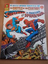 DC & MARVEL PRESENT: SUPERMAN VS SPIDERMAN, BATTLE OF THE CENTURY,1978, VF-!!!