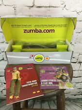 Zumba Fitness Join The Party w Toning Sticks & 4 Dvd's