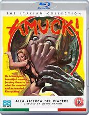 AMUCK! Barbara Bouchet BLU-RAY Farley Granger GIALLO Rosalba Neri MANIAC MANSION
