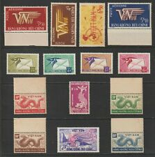 1952 - 1960 Complete Set Air Post Stamps of South Vietnam  Sc # C1 - C14 MNH