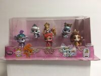 Disney Store Palace Pets- 6 Piece Figurine Playset (Whisker Haven Tales) NEW