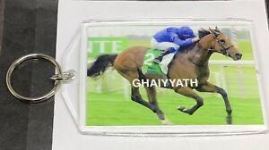 GHAIYYATH, (IRE) LONGINES BEST RACEHORSE AWARD (2021). BRAND NEW LARGE KEYRING