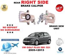 FOR VW GOLF PLUS 5M1 521 2005->2013 REAR RIGHT BRAKE CALIPER ** OE QUALITY **