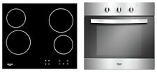 Bush LSBCHP Built In Electric Oven with Ceramic Hob -S/Steel