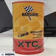 BARDHAL XTC C60 20W-50 Olio Auto AntiAttrito Auto Sportive Alte Prestaz 1 Litro