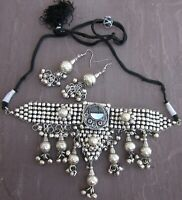 Charm Necklace Choker Gothic Gypsy Hippie Boho Fashion Jewelry