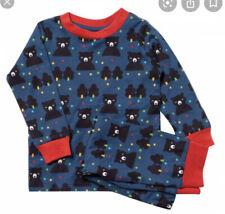 Little Green Radicals Winter Bear Pyjamas Age 5-6 Years