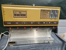 More details for vintage 60s 70s the aristocract gold canteen coffee tea drink machine