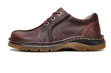 Dr. Martens Men's Ripley 3 Eye Shoe Tan Bear Track Size 8 M