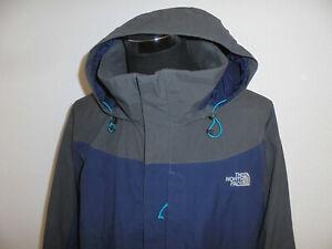 The North Face Jacke Hyvent Regenjacke Parka Anorak outdoor vintage blaugrau XXL