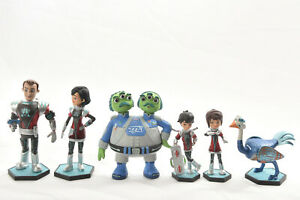 Disney-MILES FROM TOMORROWLAND-Play Set-Lot of 6 Action Figures-Cake Toppers S1