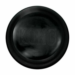 KONG-Extreme Flyer-Durable Rubber Soft Flying Disc for Power Chewers Large Dogs