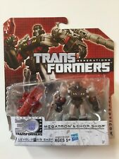 Transformers Generations Thrilling 30 Megatron And Chop Shop