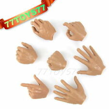 Custom 1/6 Hands/Palms_Set of 7 pieces_ Suit for Hot Toys DIY CS056A