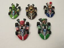 Nintendo Mario Kart Mini Cars Figures Lot of 5