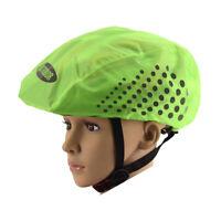 Reflective Bike Helmet Cover Waterproof Windproof Bicycle Helmet Rain CovWD