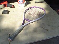 Wilson Hope Purple Graphite Tennis Racquet 4 3/8