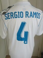 **SERGIO RAMOS** REAL MADRID HOME SHIRT  BNWT 2017-18 SIZE LARGE