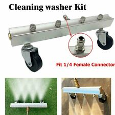 Washing Tool with 4 Spray Nozzle 40° Under Body Chassis Cleaning Tool Road Car