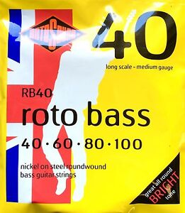 Rotosound Rotobass 40-100 Bass Strings Rb40, Hybrid