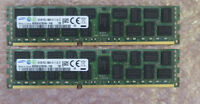 Fujitsu 16GB (2x8GB) S26361-F4523-R623 PC3-10600 DDR3 REG ECC Server Memory Ram