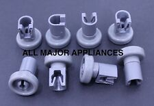 DISHLEX DISHWASHER DX103WK, DX103SK ROLLERS (8PCS) D/GREY TOP 50286967-00/0