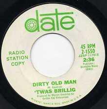 """'TWAS BRILLIG """"DIRTY OL' MAN"""" ORIG MN GARAGE 1966 VG+"""