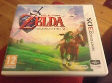 The Legend of Zelda Ocarina of Time 3D (Nintendo 3DS 2011) Used with Manual
