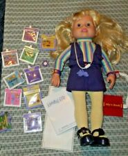 Amazing Ally Interactive Doll & Ally's Book,10 cartridges,orig outfit/Inst.book