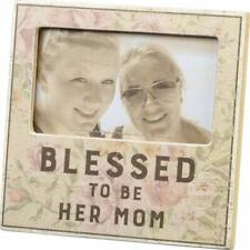 Blessed to Be Her Mom Plaque Frame Nwt by Primitives by Kathy