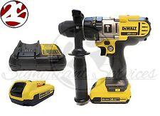 NEW DeWALT DCD985M2 20V 20 VOLT MAX Lithium Ion XR DCB203 DCB112 Hammer Drill