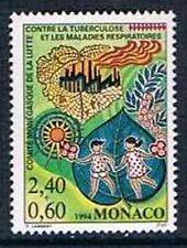 Monaco 1994 Yv N°1931 Mnh**  Nat. Comittee fighting tuberculosis