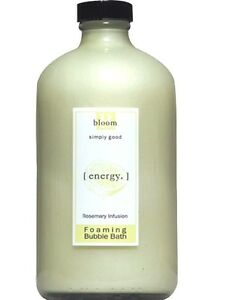 Bloom Energy Rosemary Citrus Infusion Bubble Bath Simply Good Skin Care