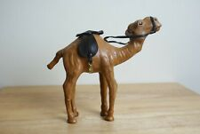 """African Leather Camel figure 6"""" Tall"""