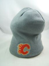 Calgary Flames NHL Hockey Coors Winter Hat Gray Toque Beanie Stocking Cap