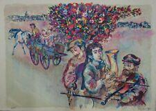 Walter SPITZER : Le Mariage Juif - Lithographie originale signée