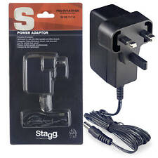 Stagg Reverse Polarity 9-Volt 1.7A AC Adapter For Effect Pedals (PSU-9V1A7R-UK)
