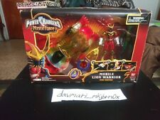 Power Rangers Mystic Force Mobile Lion Warrior Fury W/ 2 Rangers, New & Rare!
