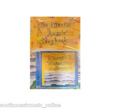 ESSENTIAL AUSSIE SONG BOOK MELODY CHORDS & LYRICS SONGBOOK & CD - 30 SONGS