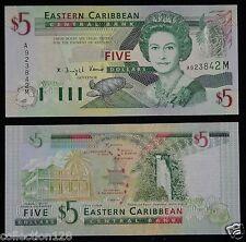 Eastern East Caribbean Montserrat Banknote $5 2003 UNC