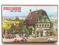 MINT VOLLMER 3736 HO OO GAUGE BUILDING KIT - INN, HOTEL WITH RESTAURANT