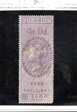 Gran Bretaña Monarquias Valor fiscal Victoriano año 1864 (BR-890)