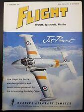 Flight Magazine, Aircraft, Spacecraft, Missiles- 27 February 1959