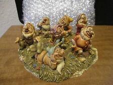 Harmony Kingdom Disney The Seven Dwarfs Snow White Story RARE Prototype