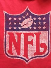 Org. Junk Food Gigantic NFL Logo Made In USA Adult T-shirt XL Red Rare T-shirt