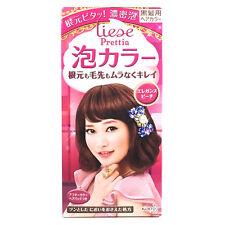 Kao Prettia Bubble Hair Color Elegance Peach